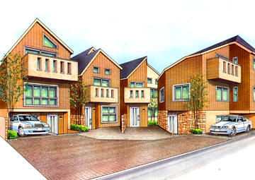 分譲戸建て住宅イメージ